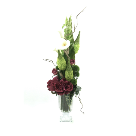 Calla lilies and Peonies