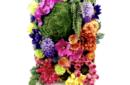 flower wall garden