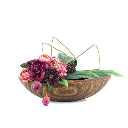 purple peonie and gerbra web