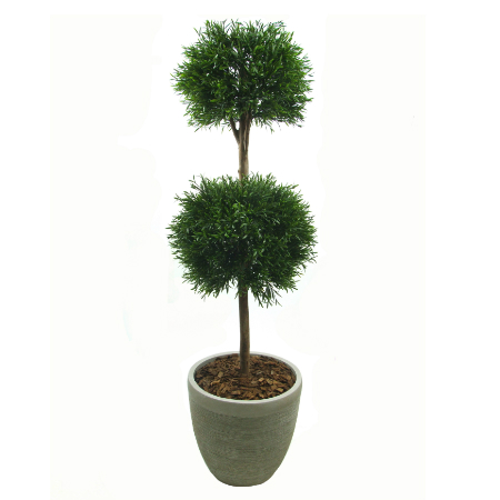 Lavander double ball topiary