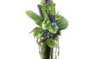 Green antherium arrangement