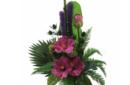 Hibiscus arrangement